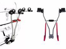 Rack Transbike Traseiro De Engate Easy 2 Eqmax Para 2 Bikes -