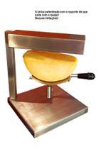 Racleteira Raclette de mesa um queijo 110V, aço inoxidável 1200W Savoie - Raclete Tradicional Suiça - Raclete Tradicional Suíça