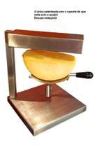 Racleteira Raclette de mesa um queijo 220V, aço inoxidável 1200W Savoie - Raclete Tradicional Suiça - Raclete Tradicional Suíça