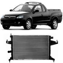 Radiador Chevrolet Montana 2004 a 2008 Com Ar Visconde -