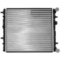 Radiador do Motor Vw Fox 1.0/1.6 Polo 1.6 2003 a 2006 Com Ventilador eletromagnético RV2516 - Car+