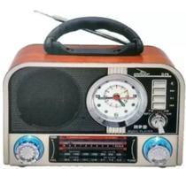 Radio Am Fm Sw Com Despertador Relogio Retro - Lelong