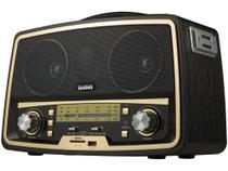 Radio Am Fm Usb Antigo Classico Vintage Retro Com Bluetooth - Ecobaz