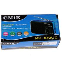 Rádio Am Fm Usb Sd Card - Cmik