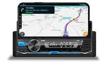 Radio Aparelho De Som Carro Automotivo 1 Din Mp3 Com Suporte Para Celular Bluetooth Usb Sd Card App Controle Remoto - Jr8