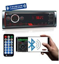 Radio Automotiv E-tech Premium Bluetooth Usb Aux Sd Controle - Pancadaoeletronicos
