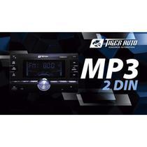 Radio Automotivo 2Din Mp3 Player USB/SD/AUX/BLUETOOTH/FM Tiger Auto -