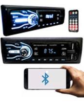 Rádio Automotivo 4x25w Bluetooth Usb Sdcard Mp3 Controle Aparelho Som Promoção - First Option