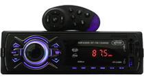 Rádio Automotivo Bluetooth 240 W Usb Sd Aux Controle Volante Som - Knup