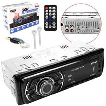 Radio Automotivo Bluetooth 60W X 4 Aux USB SD FM MP3 Knup KP-C238H KP-C23BH KNUP