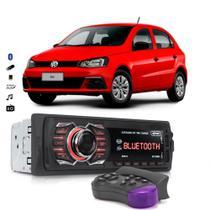 Rádio Automotivo Bluetooth Aparelho De Som Vw Gol G6 G7 Usb Sd Card - Knup