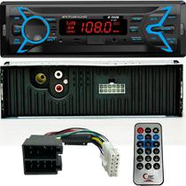 Rádio Automotivo Bluetooth/Usb/SD/Aux/ 4X15W com Controle remoto H-Tech HT-1020 -