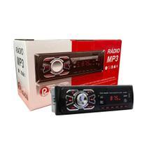 Radio Automotivo MP3 Bluetooth USB Ruchi NT90003BT -