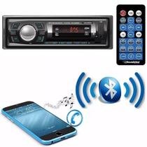 Radio Automotivo Mp3 Player Roadstar Bluetooth Fm Usb 2606