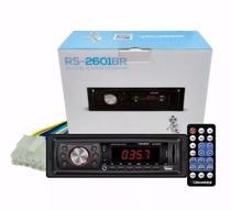 Radio Automotivo Mp3 Player Rs2601br Usb Sd Fm C/Controle Roadstar -