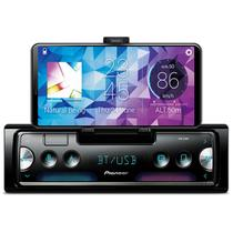 Rádio Automotivo Pioneer SPH-C10BT Som Bluetooth MP3 Player 1 Din LCD Smart Sync Android Iphone -