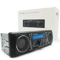 Rádio Automotivo Roadstar Rs-2710br Alto Falante Embutido USB Sd Fm Aux Frontal -