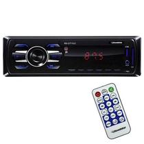 Rádio Automotivo Roadstar RS-2711LC Rádio FM/Entrada USB/Leitor de Memória M -