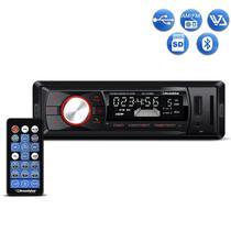 Radio Automotivo Roadstar RS2709BR Mp3 Player Bluetooth USB SD Aux AM FM 4x50w -