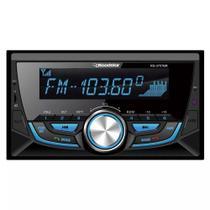 Rádio Automotivo RS3707BR 2 DIN Bluetooth SD USB FM Roadstar -