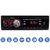 Radio Automotivo Sem Toca Cd Mp3 Player Bluetooth First Usb + Controle - First Option