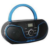 Rádio Bluelife Boombox Bluetooth 3.0 USB SD AUX CD Leadership Bivolt/Pilhas 1471 -