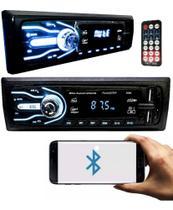 Rádio Bluetooth Aparelho De Som Automotivo Carro 2xUsb Rádio - First Option