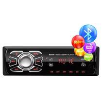 Rádio Bluetooth Aparelho De Som Carro Automotivo Pendrive Sd Rádio - Oestesom