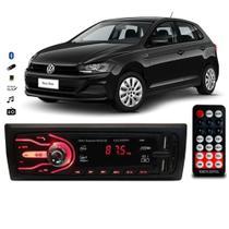 Rádio Bluetooth Aparelho De Som Carro Automotivo Vw Polo Pendrive Sd Rádio - First Option