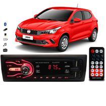Rádio Bluetooth Aparelho De Som Carro Fiat Argo Automotivo Pendrive Sd Rádio - First Option