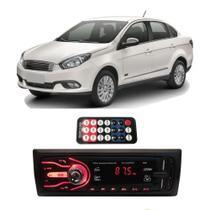 Rádio Bluetooth Aparelho De Som Carro Fiat Grand Siena Pendrive Automotivo Rádio - First Option