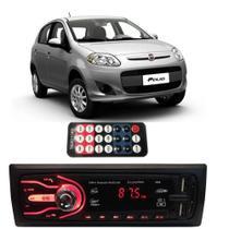 Rádio Bluetooth Aparelho De Som Carro Fiat Palio Automotivo Pendrive Sd Rádio - First Option