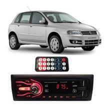 Rádio Bluetooth Aparelho De Som Carro Fiat Stilo Pendrive Automotivo Sd Rádio - First Option