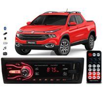 Rádio Bluetooth Aparelho De Som Carro Fiat Toro Automotivo Pendrive Sd Rádio - First Option