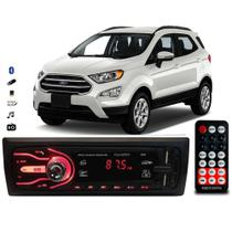 Rádio Bluetooth Aparelho De Som Carro Ford Ecosport Automotivo Pendrive Sd Rádio - First Option
