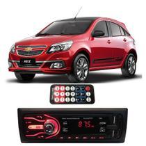 Rádio Bluetooth Aparelho De Som Carro Gm Agile Pendrive Automotivo Sd Rádio - First Option
