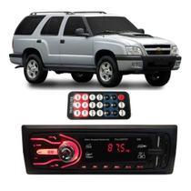 Rádio Bluetooth Aparelho De Som Carro Gm Blazer Automotivo Pendrive Sd Rádio - First Option