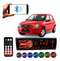 Rádio Bluetooth Aparelho De Som Carro Gm Celta Automotivo Pendrive Sd Rádio - First Option