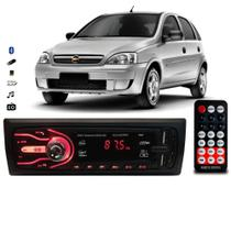 Rádio Bluetooth Aparelho De Som Carro Gm Corsa Automotivo Pendrive Sd Rádio - First Option