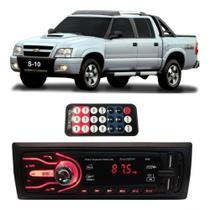 Rádio Bluetooth Aparelho De Som Carro Gm S10 Pendrive Automotivo Sd Rádio - First Option