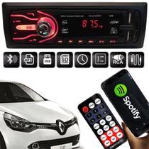 Rádio Bluetooth Aparelho De Som Carro Renault Clio Pendrive Automotivo Sd Rádio - First Option