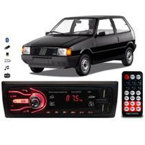 Rádio Bluetooth Aparelho De Som Carro Uno Automotivo Pendrive Sd Rádio - First Option