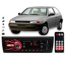 Rádio Bluetooth Aparelho De Som Carro Vw Gol G2 Automotivo Pendrive Sd Rádio - First Option