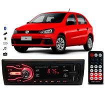 Rádio Bluetooth Aparelho De Som Carro Vw Gol G3 G4 G5 Automotivo Pendrive Sd Rádio - First Option