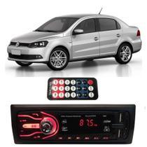 Rádio Bluetooth Aparelho De Som Carro Vw Voyage Pendrive Automotivo Sd Rádio - First Option