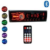 Rádio Bluetooth Aparelho Som Automotivo Mp3 Usb Sd Fm Rádio - First Option