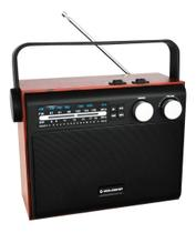 Rádio Bluetooth Goldship  6 In-1 Vintage 1489 -