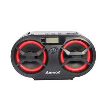 Radio Boombox Amvox Amc 595 New Cd Bluetooth Usb Fm Mp3