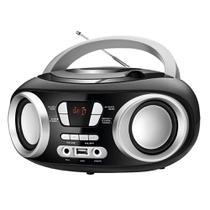 Rádio Boombox NBX-13, Entrada USB e para Fone de Ouvido, Rádio FM, Display Digital, 6W RMS- Mondial -