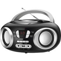 Rádio com CD. FM. Potência 6W RMS. Entradas USB e Auxiliar Mondial NBX13 -